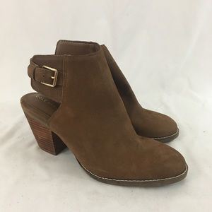 Cole Haan Brown Booties From Nordstrom NWT